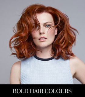 Bold Hair Colours for Summer
