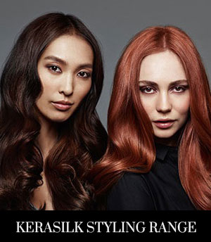 Discover the NEW Goldwell Kerasilk Styling Range