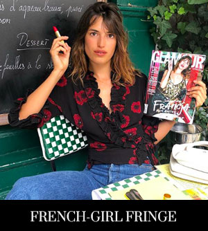 Try a 'French-Girl Fringe' for Autumn 2018