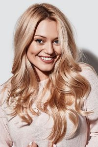 golden blonde hair colour Teddington hair salon