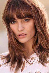 brunette with red tones Teddington hair colour salon