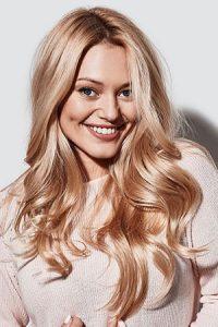 golden blonde hair colour Teddington hair salon