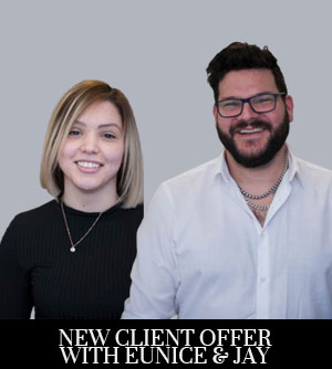 New Client Offer with Eunice and Jay